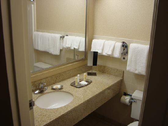 Clarion Hotel Kansas City - Overland Park: Bathroom