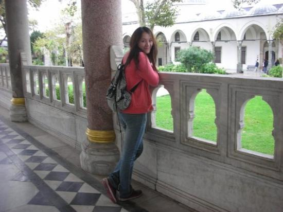 Topkapi Palace: in a ancient castle