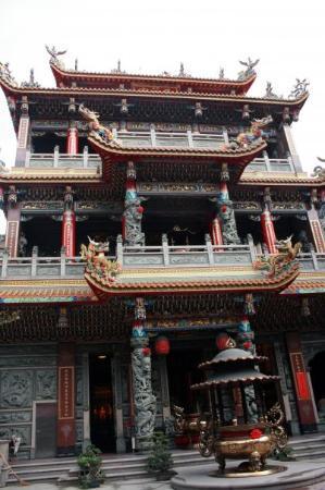 ไทเป, ไต้หวัน: Taipei, Taiwan Ching Fu Kung Temple