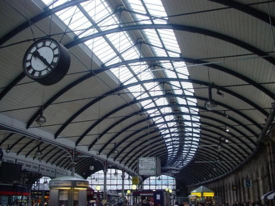 Newcastle upon Tyne, UK: Take me back to Central Station
