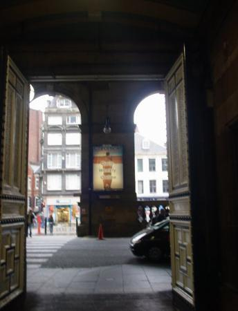 Newcastle upon Tyne, UK: The big doors leading to the light.....