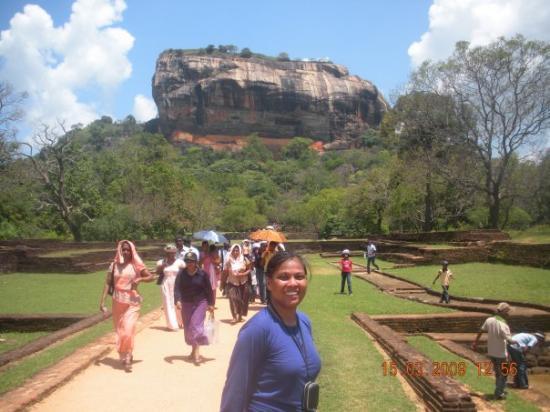 Sigiriya, ศรีลังกา: This is the Rock