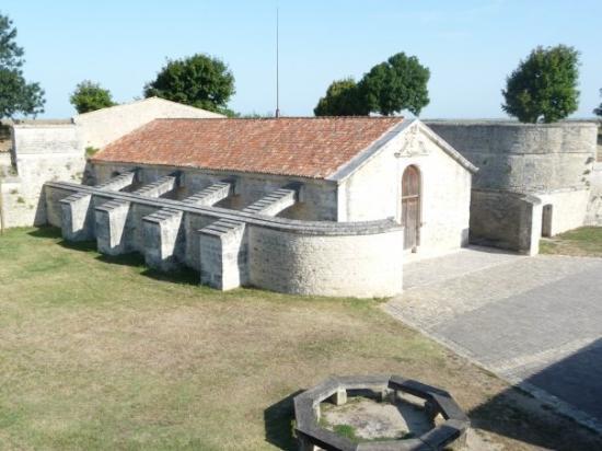 Hiers-Brouage, ฝรั่งเศส: citadelle fortifiée de Brouage (poudrière St Luc)