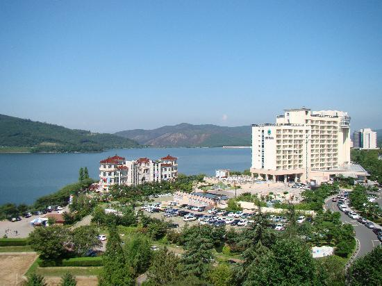 Hotel Concorde Gyeongju: View from the balcony