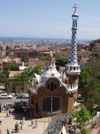 กูเอลปาร์ค: Gaudi