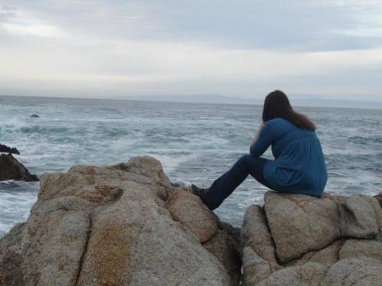 คาร์เมล, แคลิฟอร์เนีย: In carmel being one with the ocean