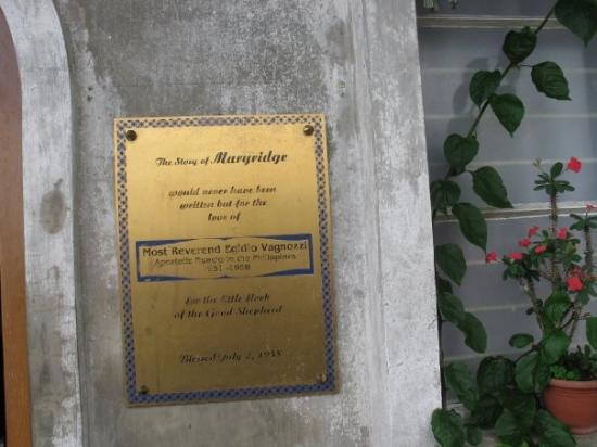 Tagaytay, ฟิลิปปินส์: Maryridge sign