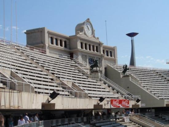 Stadio Olimpico: Inside Olympic Stadium Barcelona