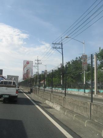 มะนิลา, ฟิลิปปินส์: This billboard was about 120 feet tall