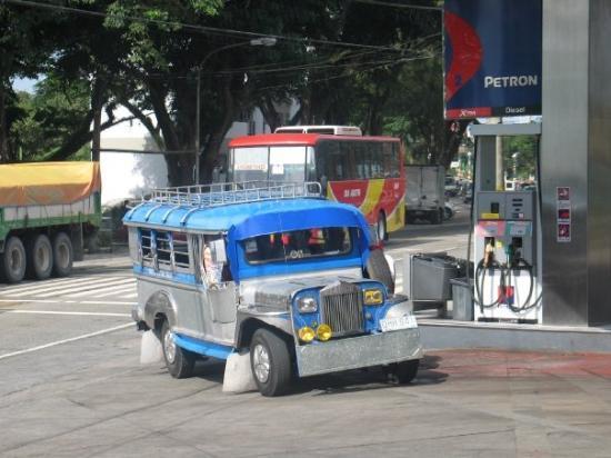 มะนิลา, ฟิลิปปินส์: Jeepney in Tagatay