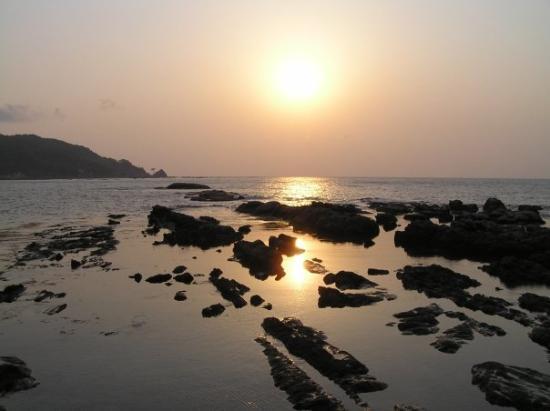 West coast Wajima sunset