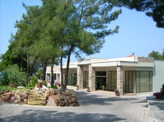 Potos, กรีซ: Eingangsbereich vom Hotel