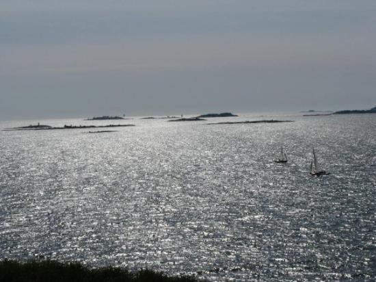 เฮลซิงกิ, ฟินแลนด์: Helsinki, Finnland View from Suomenlinna sea fortress