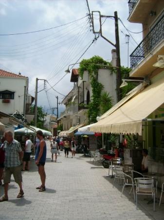 Thassos Town (Limenas), กรีซ: die Gassen von Limenas