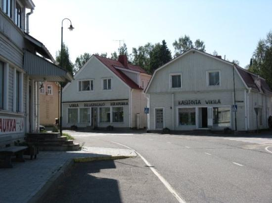 Juuka, Finnland Puu-Juuka (Old town with wooden buildings)