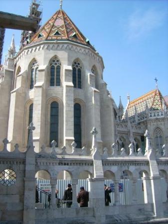 ป้อมชาวประมง: wunderschön...die Mattiaskirche