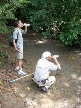 อุทยานแห่งชาติ Manuel Antonio National Park, คอสตาริกา: 'Dont' drink the water'