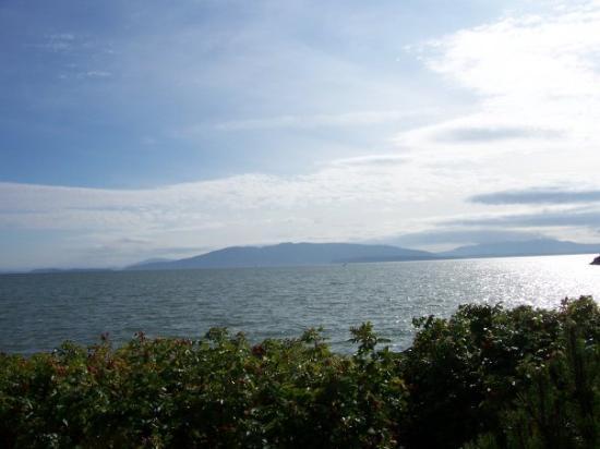 แบลน, วอชิงตัน: View of the San Juan Islands
