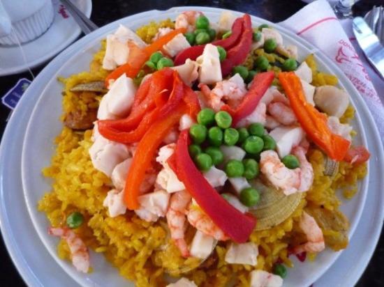 ซันเตียโก, ชิลี: paella
