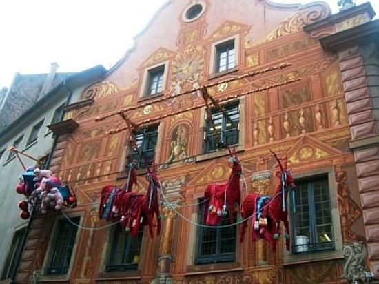 สตราสบูร์ก, ฝรั่งเศส: French Xmas display