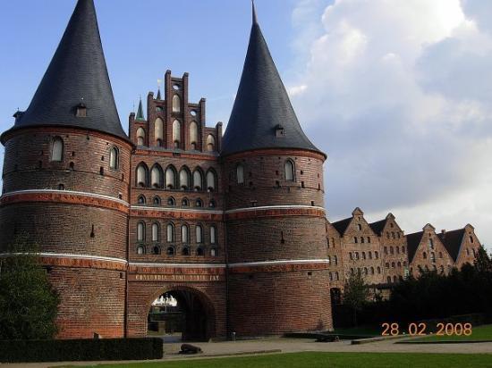 ลือเบค, เยอรมนี: Lübeck - Holsteintor