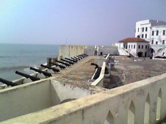 Cape Coast Castle for slave trade