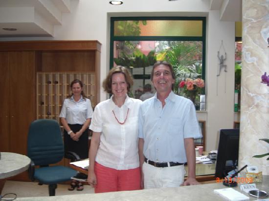 Hotel Villa Schuler: The Shulers