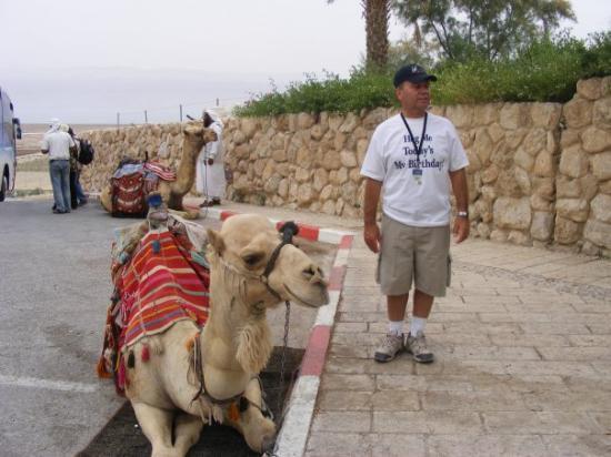 เยรูซาเล็ม, อิสราเอล: I bought Edward this new ride for his B-Day lol