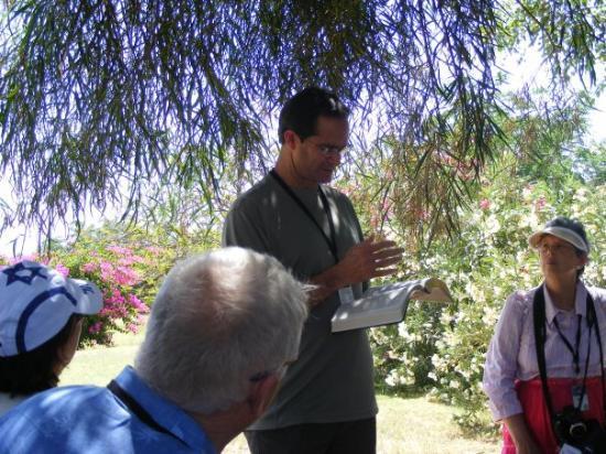 เยรูซาเล็ม, อิสราเอล: teaching by Pastor Ron