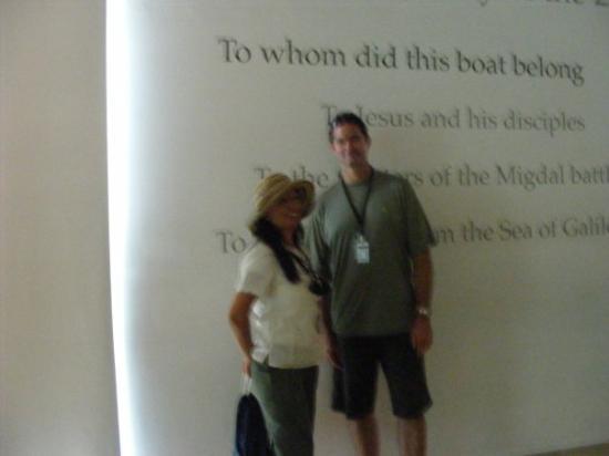เยรูซาเล็ม, อิสราเอล: me and Pastor Ron