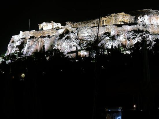 อะโครโปลิส: Akropolis at night