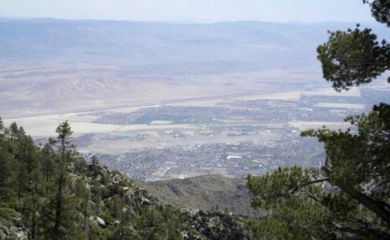 ปาล์มสปริงส์, แคลิฟอร์เนีย: Palm Spring, Califorien Mt. San Jacinto