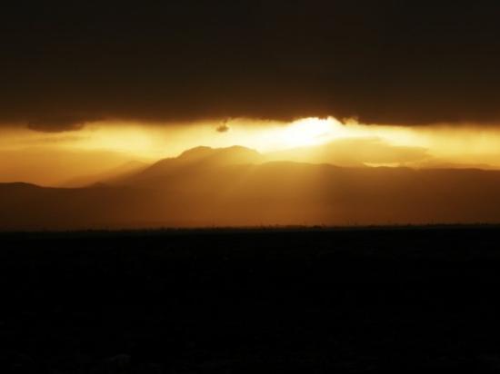 คอรินท์, กรีซ: Auringonlasku