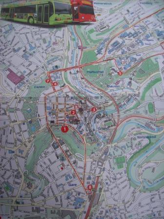 เมืองลักเซมเบิร์ก, ลักเซมเบิร์ก: map