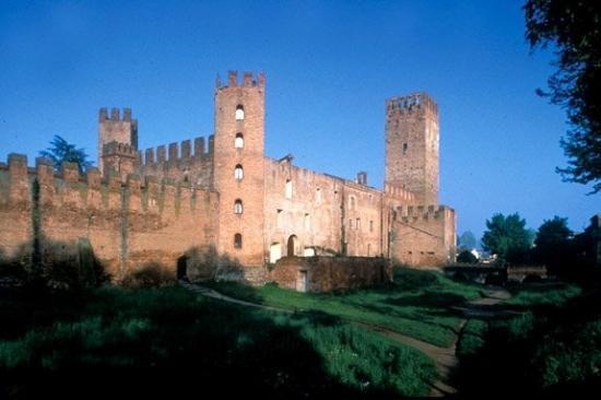 Montagnana (PD) Le mura e il Castello di San Zeno