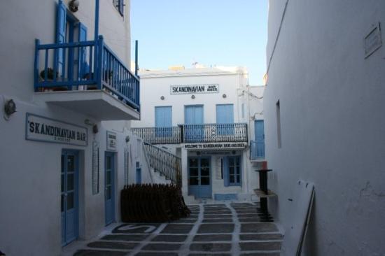มีโกนอสทาวน์, กรีซ: Se andate a Mykonos questa è una tappa obbligatoria.
