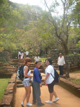 we are near Sigiriya