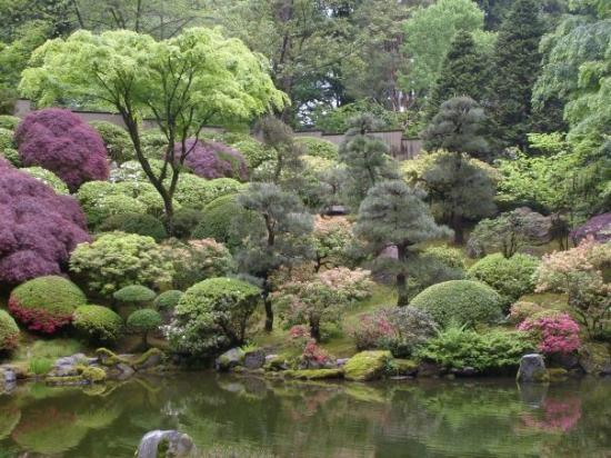 พอร์ตแลนด์, ออริกอน: Portland Japanese Gardens.  Surprisingly, not as great as the Seattle gardens.