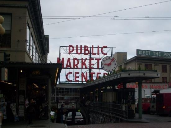 ซีแอตเทิล, วอชิงตัน: On my last morning, before my 1pm flight back to Houston, I decided to check out the Pike Place
