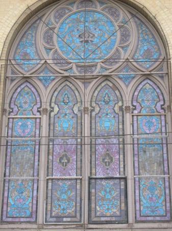 เดนเวอร์, โคโลราโด: One of the stain glass windows on a synagogue... downtown Denver