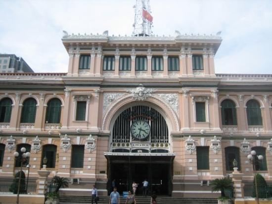 โฮจิมินห์ซิตี, เวียดนาม: Post Office