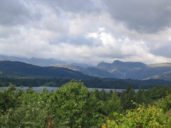 Windermere, UK: view from the b and b