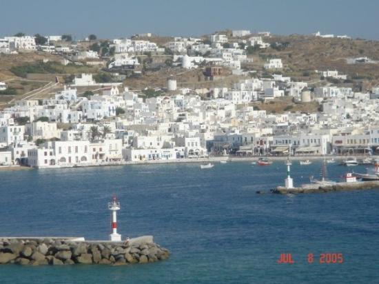 มีโกนอส, กรีซ: Island of Mykonos, Greece