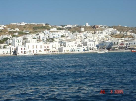 มีโกนอส, กรีซ: Mykonos, the party island,  here we come!