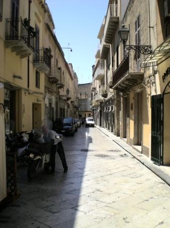 улочка в Marsala