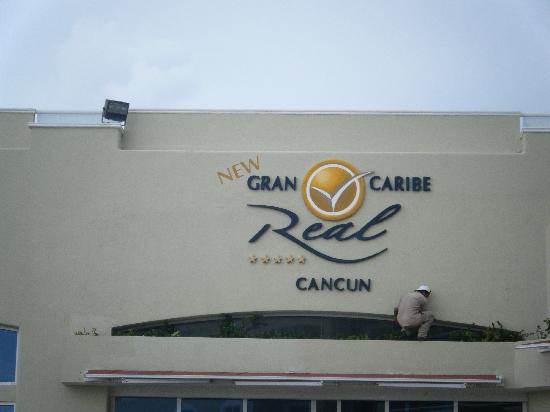 Panama Jack Resorts - Gran Caribe Cancun: pool sign