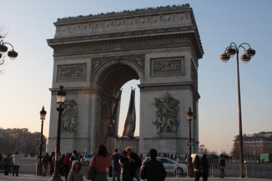 ประตูชัย: Arco del Triunfo