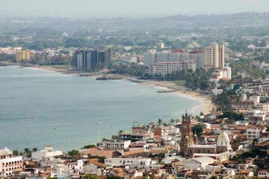 เปอร์โตวัลลาร์ตา, เม็กซิโก: View from the condo balcony.