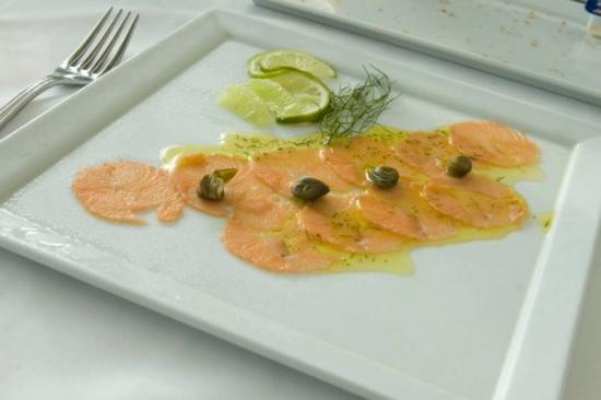 Hard Rock Hotel Vallarta: Carpaccio of Salmon