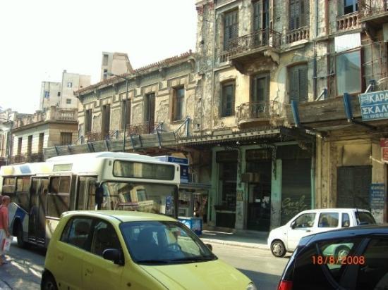 Athens Walking Tours: Somewhere of street in Athinas , Athens